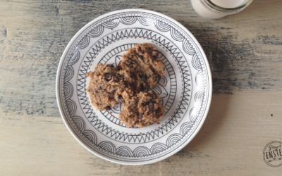 Chocolate Chip Breakfast Cookies (Paleo, Vegan)