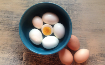 How to Make Easy-Peel Hard Boiled Eggs